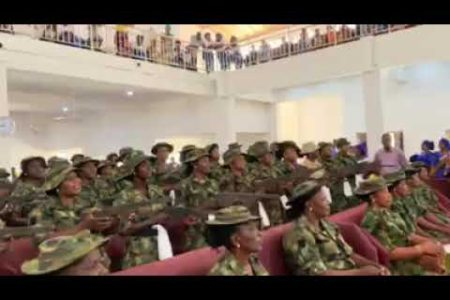 Nigerian Army female soldiers in Sambisa Forest – News On The Go
